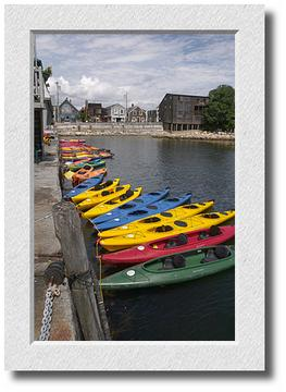 Kayaks, Bearskin Neck