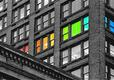 Colorized Building